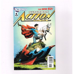 ACTION-COMICS-New-52-5-Gorgeous-variant-cover-by-Rags-Morales-NM-301654915779