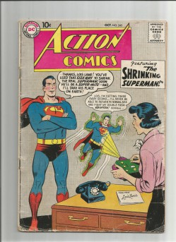 ACTION-COMICS-v1-245-Silver-Age-DC-find-The-Shrinking-Superman-301680774397