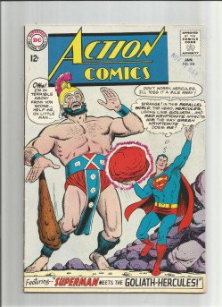 ACTION-COMICS-v1-308-Grade-70-Silver-Age-DC-Featuring-The-Goliath-Hercules-291510181430