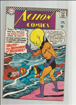 ACTION-COMICS-v1-338-Silver-Age-find-from-DC-Comics-GRADE-70-291510185075