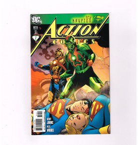 ACTION-COMICS-v1-872-Beautiful-limited-variant-cover-by-Chris-Sprouse-NM-291485085106