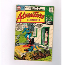 ADVENTURE-COMICS-236-Silver-Age-DC-Pa-Kent-gains-super-powers-301740005435