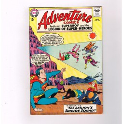ADVENTURE-COMICS-319-Grade-70-Silver-Age-find-from-DC-Comics-301684394020