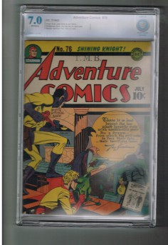 ADVENTURE-COMICS-76-CBCS-Grade-70-Gold-Age-find-from-DC-Comics-301667674145