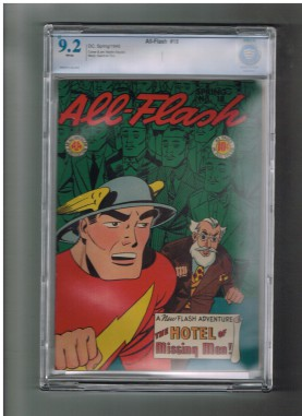 ALL-FLASH-18-CBCS-Grade-92-Amazing-Gold-Age-1945-find-from-DC-Comics-301667519218