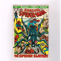 AMAZING-SPIDER-MAN-v1-105-Grade-85-Bronze-Age-find-1st-Spider-Slayer-robot-291517686504