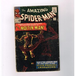 AMAZING-SPIDER-MAN-v1-28-Silver-Age-key-issue-1st-MOLTEN-MAN-appearance-301685951875
