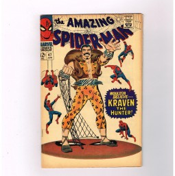 AMAZING-SPIDER-MAN-v1-47-Grade-75-Silver-Age-find-feat-Kraven-The-Hunter-291513373514