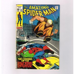 AMAZING-SPIDER-MAN-v1-81-Grade-70-Bronze-Age-find-featuring-The-Kangaroo-291514684573