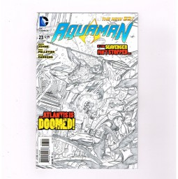 AQUAMAN-v5-23-Limited-to-1-for-25-variant-by-Pelletier-Parsons-NM-301656384767