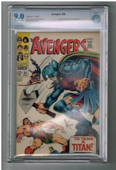 AVENGERS-50-CBCS-Grade-90-Silver-Age-Marvel-Hercules-leaves-the-team-301664973222