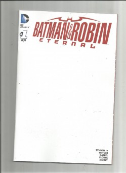 BATMAN-ROBIN-ETERNAL-1-Blank-variant-Ideal-for-signings-and-conventions-NM-291583073616
