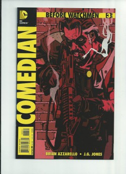 BEFORE-WATCHMEN-COMEDIAN-3-Rare-125-VARIANT-by-John-Paul-Leon-NM-290774059992