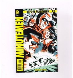 BEFORE-WATCHMEN-MINUTEMEN-5-Limited-to-1-for-25-variant-by-Michael-Cho-NM-291509373142