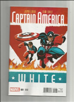 CAPTAIN-AMERICA-WHITE-1-Limited-to-1-for-20-variant-by-Tim-Sale-NM-291565304659