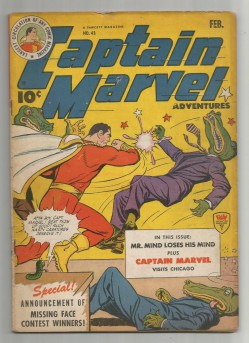 CAPTAIN-MARVEL-43-Gold-Age-Grade-60-Classic-Featuring-Mr-Mind-301699849727