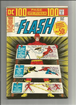 DC-100-PAGE-SUPER-SPECTACULAR-22-Bronze-Age-Grade-70-Featuring-The-Flash-291552277641
