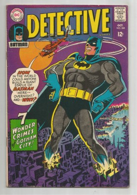 DETECTIVE-COMICS-368-Silver-Age-Grade-70-7-Wonder-Crimes-Of-Gotham-City-291533276174