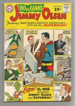 EIGHTY-PAGE-GIANT-2-Silver-Age-Grade-70-Featuring-Jimmy-Olsen-291533369880