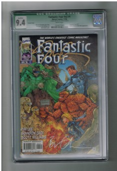 FANTASTIC-FOUR-v2-1-CGC-Grade-94-Signed-by-Jim-LeeBrandon-Choi-Qualified-301663442369