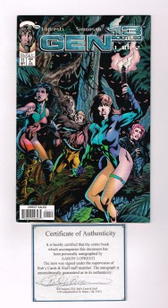 GEN-13-BOOTLEG-11-Signed-by-writer-Aaron-Lopresti-w-COA-NM-301113996359