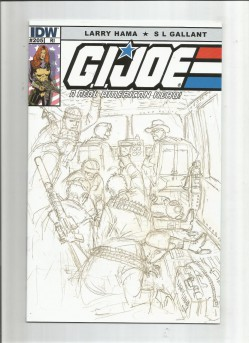 GI-JOE-REAL-AMERICAN-HERO-205-Limited-to-110-variant-by-Larry-Hama-NM-301721491305