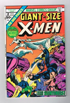GIANT-SIZE-X-MEN-2-Bronze-Age-Grade-70-With-Beautiful-Gil-Kane-Cover-291551018830