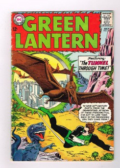 GREEN-LANTERN-30-V1-Silver-Age-Grade-45-Find-The-Tunnel-Through-Time-301730940132