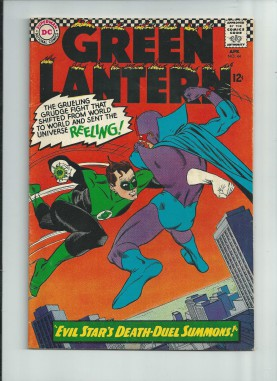 GREEN-LANTERN-44-Silver-Age-find-Evil-Star-vs-Green-Lantern-GRADE-70-290810973608