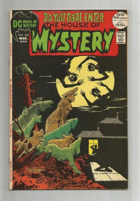 HOUSE-OF-MYSTERY-200-Bronze-Age-Grade-80-Classic-Horror-From-DC-Comics-291552491414