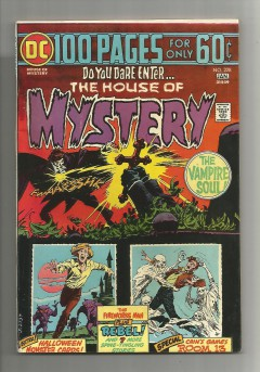 HOUSE-OF-MYSTERY-228-Bronze-Age-Grade-75-100-Page-Spectacular-301727379134
