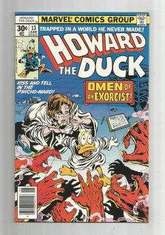 HOWARD-THE-DUCK-13-Bronze-Age-Grade-94-First-Full-KISS-Appearance-301727394575