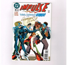 IMPULSE-4-Signed-by-Humberto-Ramos-Presented-by-DC-Comics-NM-291603112115
