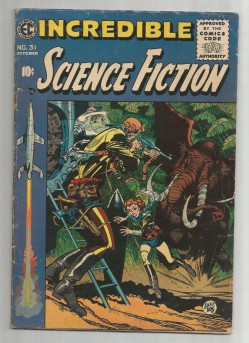 INCREDIBLE-SCIENCE-FICTION-31-Gold-Age-EC-Grade-60-With-Work-by-Wally-Wood-301686075106