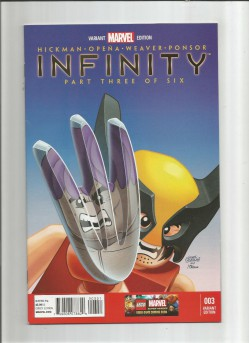 INFINITY-3-Limited-to-1-for-25-Lego-variant-by-Leonel-Castellani-NM-291605177533