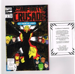 INFINITY-CRUSADE-1-Catch-A-Star-signed-edition-Al-Milgrom-Ltd-to-5000-w-COA-301783775094
