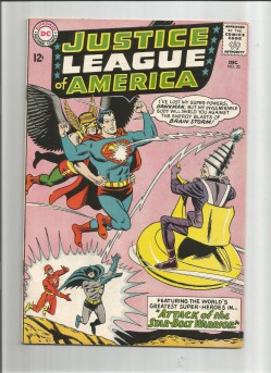 JUSTICE-LEAGUE-OF-AMERICA-32-Silver-Age-Grade-70-Find-Featuring-Brain-Storm-291553380992