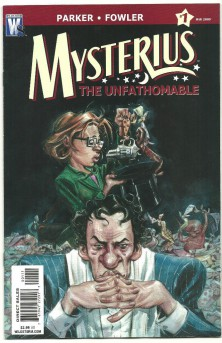 MYSTERIUS-THE-UNFATHOMABLE-6-part-Modern-Age-series-from-Wildstorm-NM-301008745252