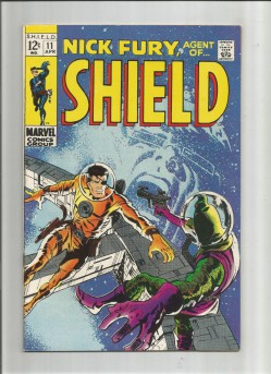 NICK-FURY-AGENT-OF-SHIELD-11-Silver-Age-Grade-80-Featuring-The-Hate-Monger-301734229966