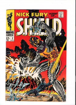 NICK-FURY-AGENT-OF-SHIELD-2-Grade-80-Silver-Age-gem-from-Marvel-300845113151