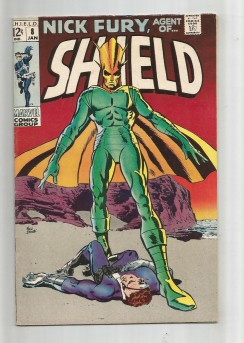 NICK-FURY-AGENT-OF-SHIELD-8-Silver-Age-Grade-70-Find-Thus-Speaks-Supremus-301734225306