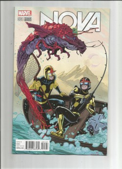 NOVA-V6-1-Limited-to-1-for-25-Kirby-Monster-variant-by-Chris-Samnee-NM-291607410154
