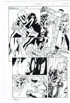 Original-art-THUNDERBOLTS-ANNUAL-1-Pages-22-23-Splash-by-Matteo-Lolli-291547801767