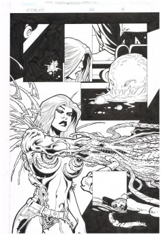Original-full-bleed-interior-art-WITCHBLADE-66-Page-16-Art-by-Scott-Benefiel-301720637793