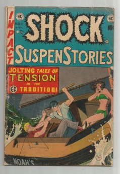 SHOCK-SUSPENSTORIES-11-Golden-Age-EC-Grade-50-With-Work-by-Wood-and-Feldstein-301685984440
