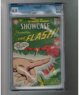 SHOWCASE-8-CGC-40-Second-Silver-Age-Flash-appearance-301376352619