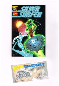SILVER-SURFER-12-Limited-Silver-Foil-edition-Comes-w-COA-NM-301803457256