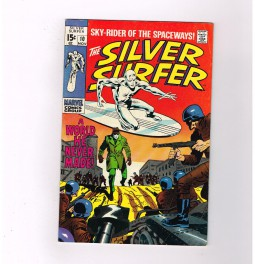 SILVER-SURFER-V1-10-Grade-80-Silver-Age-find-Surfer-goes-incognito-301738979331