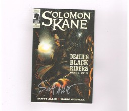 SOLOMON-KANE-DEATHS-BLACK-RIDERS-Ltd-BaltimoreCC-Ashcan-signed-by-Scott-Allie-NM-291620283635