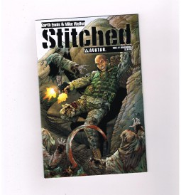 STITCHED-1-19-Complete-series-by-Garth-Ennis-All-1st-print-NM-291182145242